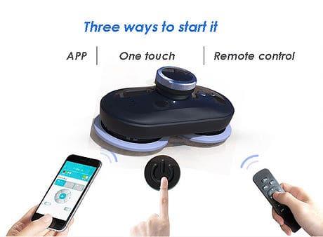 Mamibot W110 T робот за миене на прозорци с приложениe за телефон