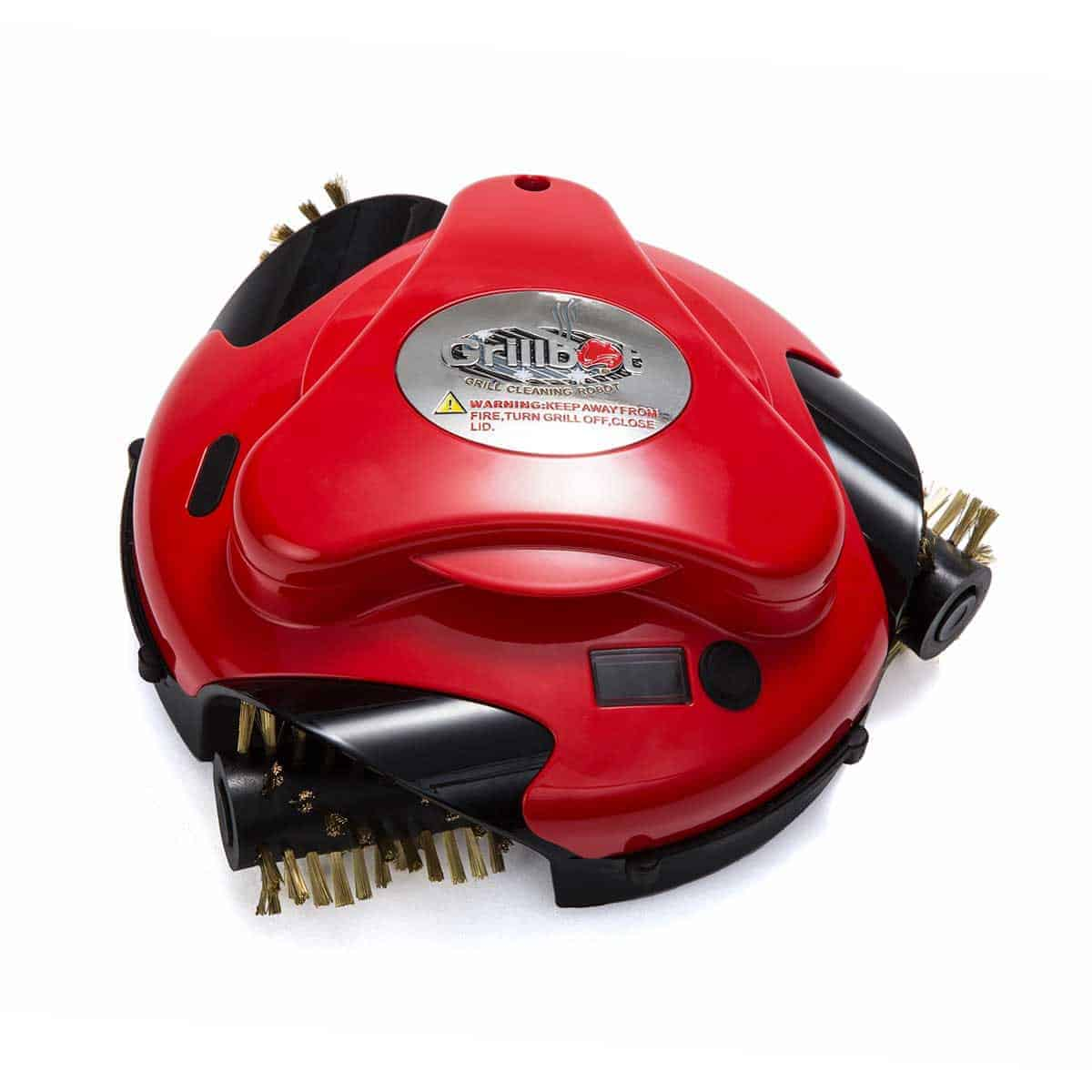 Робот за почистване на грил Grillbot – Червен