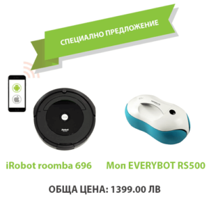 iRobot roomba 696+ EVERYBOT RS500