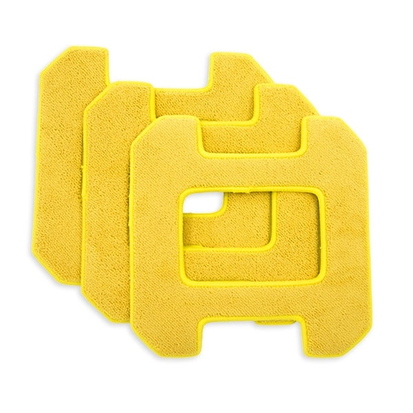 Микрофибърни кърпи за hobot 268 жълти- 3 бр.