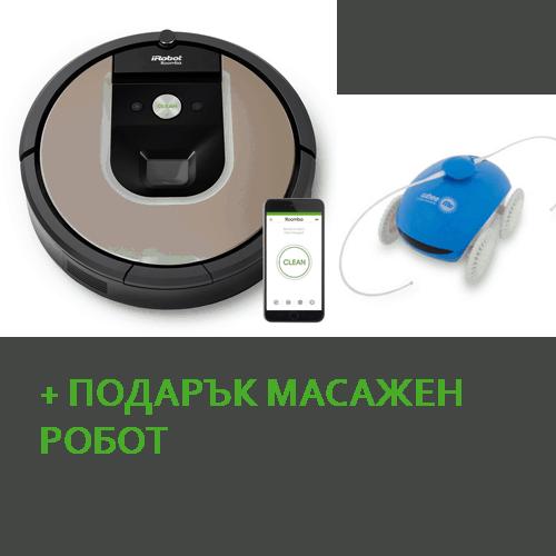 roomba966+masajenrobot