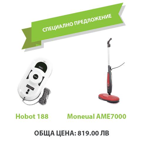 Hobot 188 + Моп Moneual AME 7000