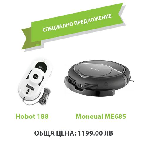 Moneual ME685 + Hobot 188