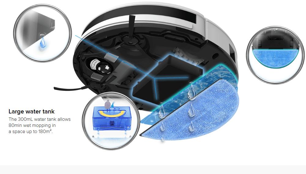 Прахосмукачки роботи с миещ моп